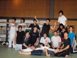 2010近畿大学日本拳法部夏合宿