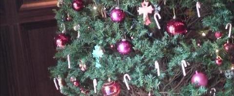 クロムハーツ大阪のクリスマスツリー