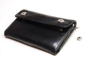 クロムの財布、修理前