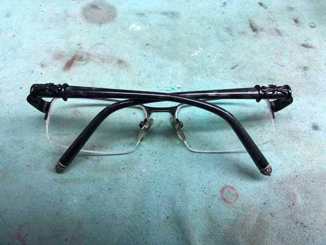 クロムハーツ偽物メガネの見分け方【クロムハーツの修理&カスタム情報】
