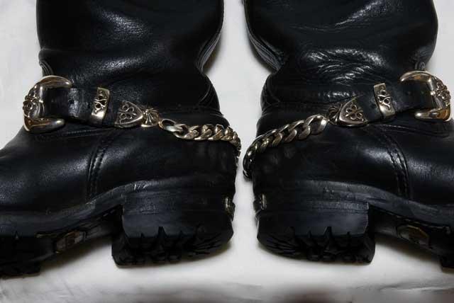 ブーツの側面