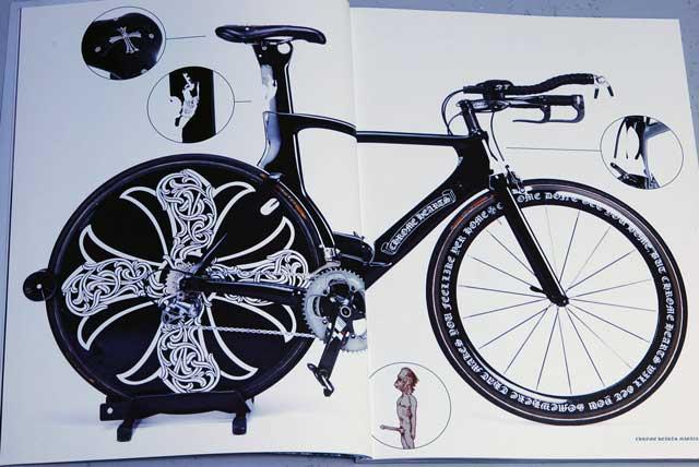 サーベロ&クロムハーツ 自転車(クロムハーツマガジン シリーズ2 vol.5)