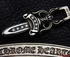 Chrome Hearts クロムハーツ ダガーペンダントに 8石ダイヤをセッティングいたしました。