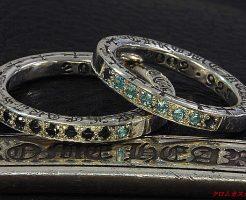 Chrome hearts NTFLリングを結婚指輪に改造しました。