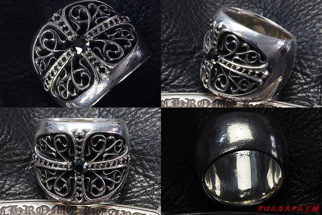 ブラックダイヤをカスタマイズしたときには、イブシを入れておりませんが ご希望の場合は、遠慮なくお申し付けください。