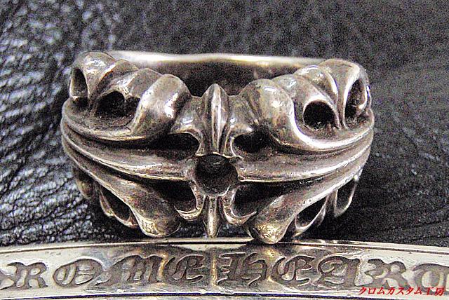 カスタム前の指輪です。